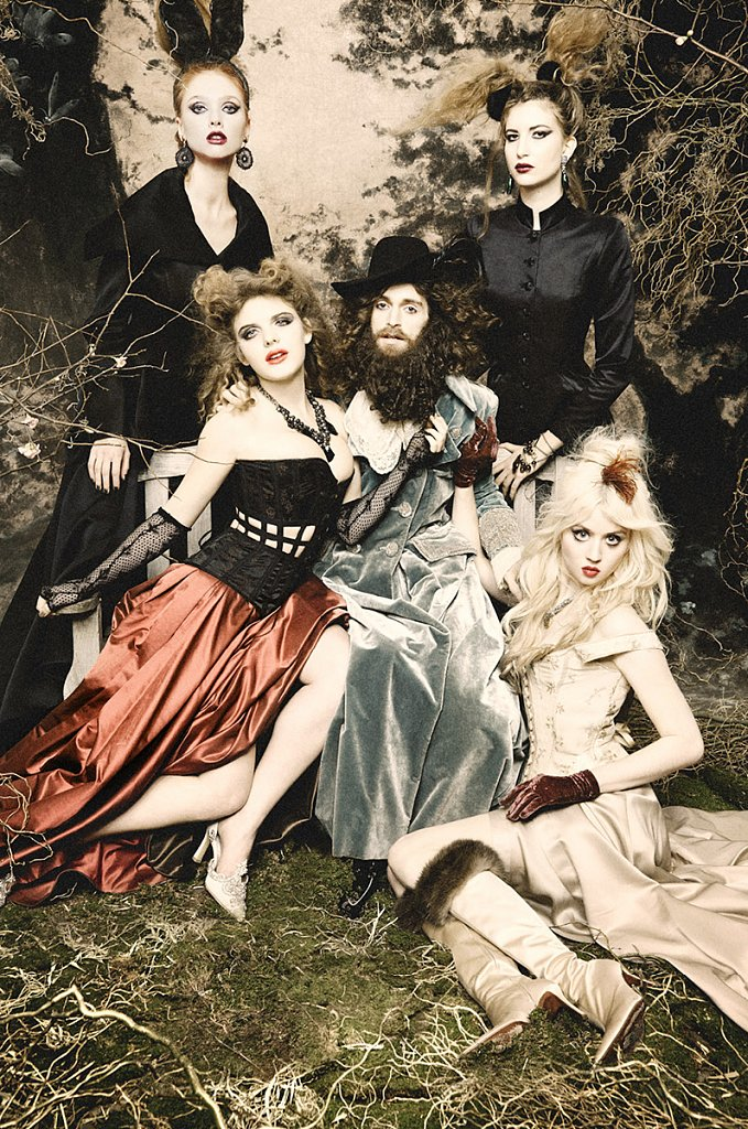 Beast and his Beauties, Spirit & Flesh Mag