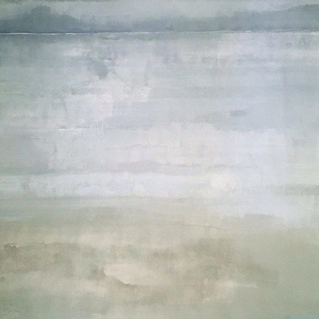 @brodersonbackdrops , pardon my redundancy, posting this painting again today, was reveling in its magical transition to #oceanscape , #seascape , upon rotating , and #rockawaybeach that I cherished as a little boy in the early 50's, painting size is 10'
